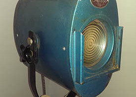 50's vintage theatre lamp