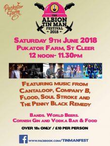 Albion Tin Man Festival